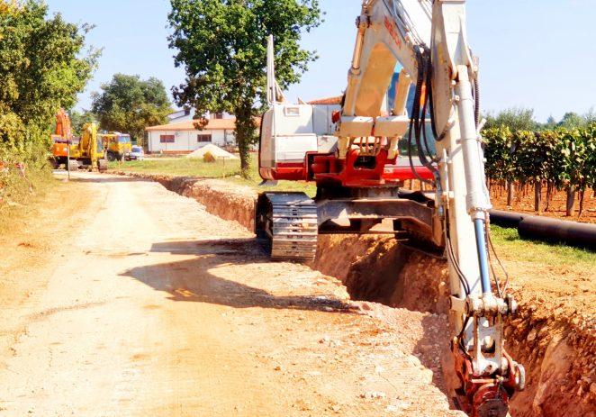 St.Portun – Kosinožići: gradi se nova cesta, sustav odvodnje i vodoopskrbe