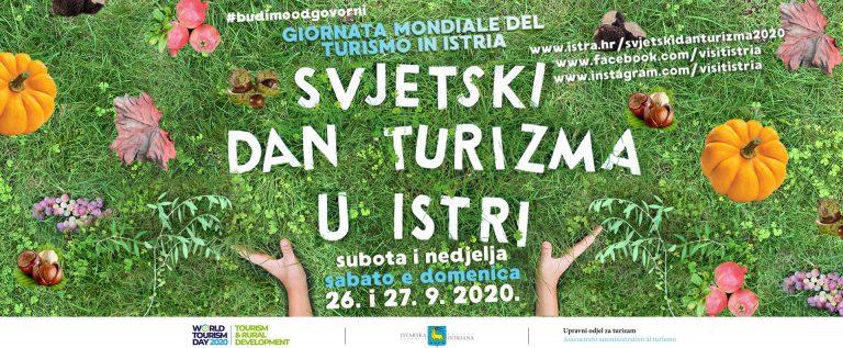 Svjetski dan turizma u Istri 2020