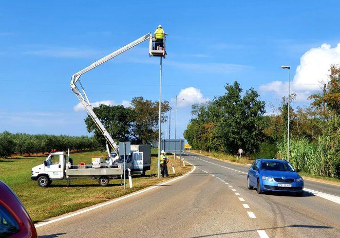Počelo postavljanje 1082 nove svjetiljke javne rasvjete – uštede do čak 76%