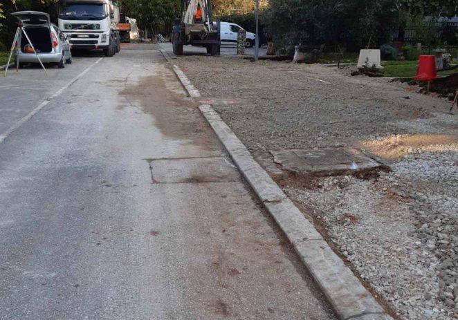 Uređuje se parkiralište u Glagoljaškoj ulici, zbog finalnih radova privremena prometna regulacija na rivi