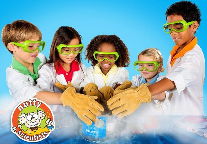 U porečkom Poduzetničkom inkubatoru djeca postaju mali znanstvenici kroz Nutty Scientists radionice