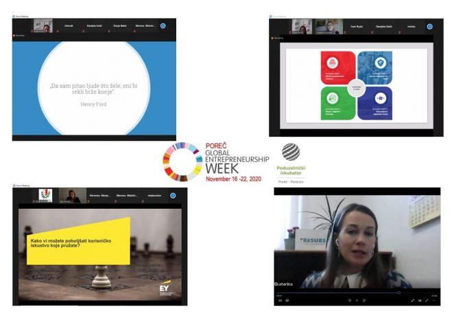 Brojnim edukativnim aktivnostima u Poreču obilježen Globalni tjedan poduzetništva