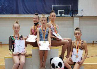 Odličan nastup porečkih ritmičkih gimnastičarki na Prvenstvu Istarske županije