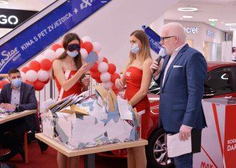 Max City je prigodnim programom proslavio 2. rođendan   8. studenog je izvučen je vlasnik automobila Opel Corsa. Ne propustite sudjelovati jer očekuje vas još 11 automobila do sljedećeg rođendana!