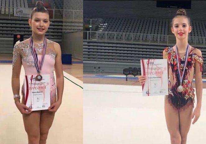 Odličan nastup porečkih ritmičarki Grese Ramadani  i Petre Belević na Prvenstvu Hrvatske u ritmičkoj gimnastici