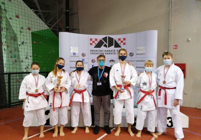 Karate klubu Finida 2 brončane medalje na Prvenstvu Hrvatske u katama