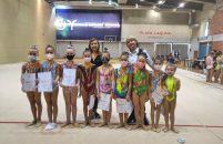 Ritmičke gimnastičarke KREG Galatea Funtana uspješno nastupile na Županijskom prvenstvu i online Mikulas Kupu 2020.
