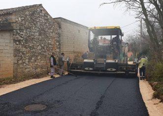 Radovi na izgradnji kanalizacijskog sustava i vodoopskrbe naselja Kosinožići  u završnoj fazi