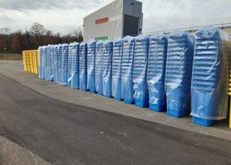 U ponedjeljak, 22. listopada započinje podjela spremnika za odvojeno sakupljanje otpada na području Općine Višnjan