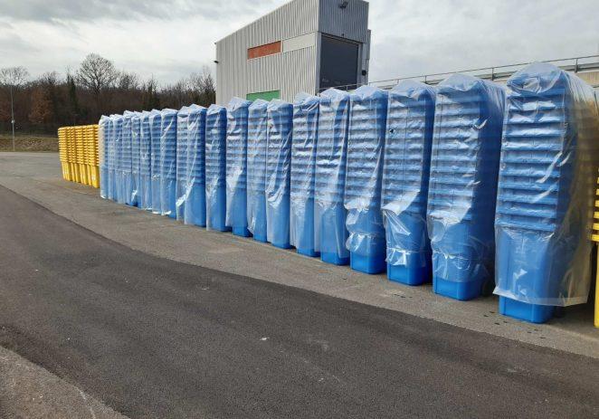 Usluga Poreč isporučila 27.792 spremnika za odvojeno sakupljanje komunalnog otpada