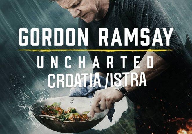 """U novoj seriji """"Uncharted"""" Gordon Ramsay u Istri kuha s Davidom Skokom"""