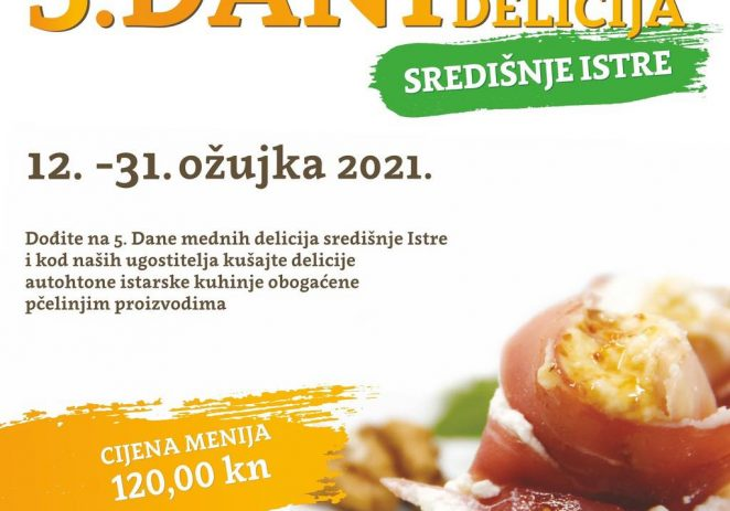 Dani mednih delicija središnje Istre od 12. do 31. ožujka