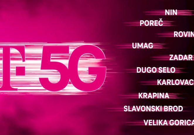 5G mreža Hrvatskog Telekoma od danas je dostupna i u  Poreču, Rovinju, Umagu …