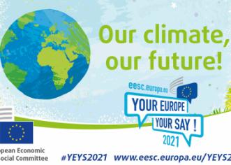 """Učenici srednje škole Mate Balote sudjeluju na europskom događanju mladih """"Tvoja Europa, tvoje mišljenje"""""""