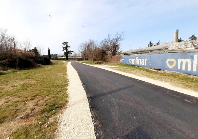 Dovršena asfaltiranja u Brčićima i Ulici Mate Vlašića, slijedi prometnica prema naselju Danci