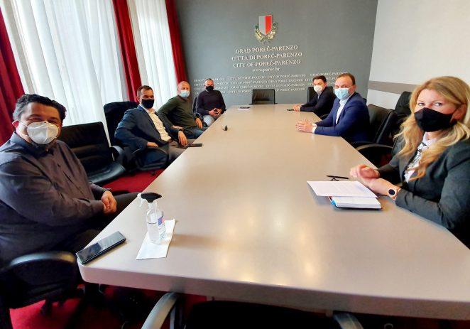 Gradonačelnik Peršurić susreo se s predstavnicima Udruge Glas poduzetnika (UGP)
