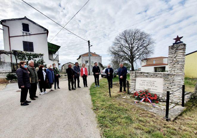 U Radmanima obilježena 77. godišnjica pogibije Ane Guštin