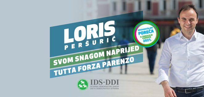 Loris Peršurić kandidat za gradonačelnika Poreča