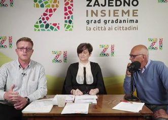 Izbori 2021: Građanska inicijativa Zajedno – Insieme predstavila plan za transparentnije i kvalitetnije trošenje sredstava iz gradskog proračuna