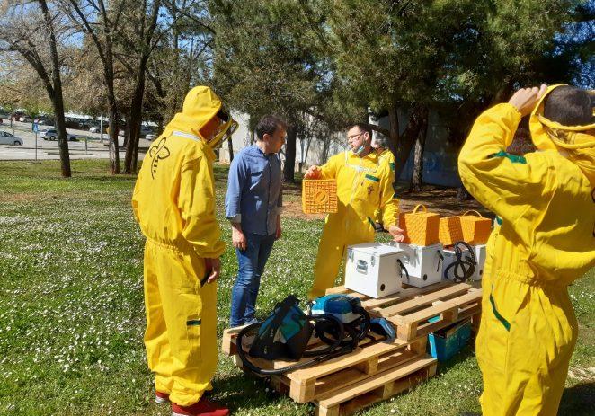 """Porečka udruga pčelara """"Nektar"""" formirala je grupu za zaštitu i zbrinjavanje rojeva pčela – dolaze na poziv 112"""