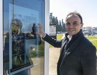IDA:  Novi interaktivni ekrani u Puli, Poreču i Rapcu