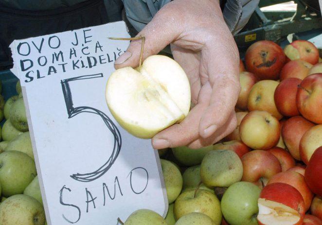 Pazite što kupujete: trgovine pune jabuka iz Srbije i Makedonije, lažno deklariranih kao domaće! Prskane su fungicidom koji je kod nas odavno zabranjen