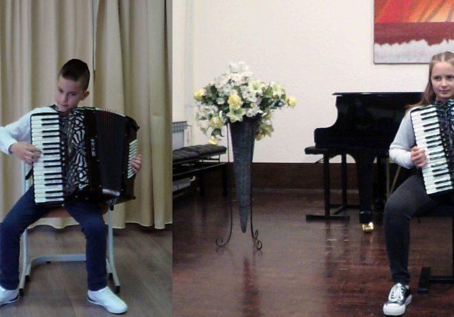 Učenici Umjetničke škole Poreč osvojili prvu i drugu nagradu  na natjecanju Accordion Fest 2021.Varaždin