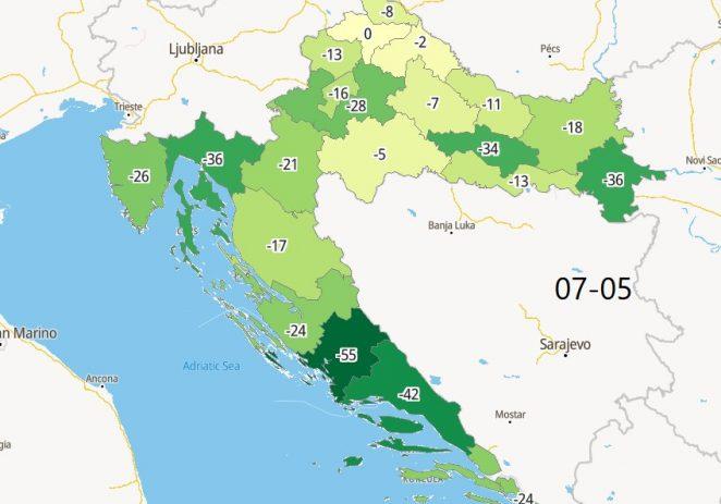 Nužne epidemiološke mjere u Istri produljit će se do 17. svibnja !