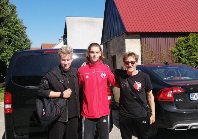 Galen Oštir i Alen Srdoč iz karate kluba Finida nastupili na Prvenstvu Hrvatske