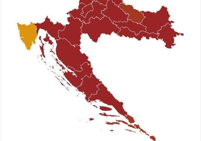 U nedjelju u Istri bez novih pozitivnih nalaza na COVID-19 – trenutna incidencija je 23 pozitivna nalaza !