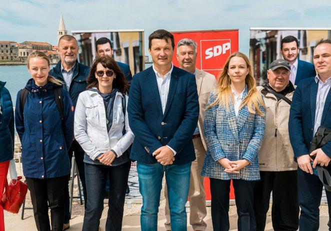 SDP Poreča predstavio  program i listu za gradonačelnika i Gradsko vijeće Grada Poreča