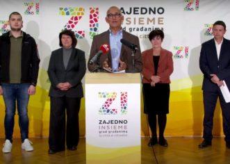Građanska inicijativa Zajedno – Insieme predstavila svoje kandidate za Gradsko vijeće i kandidata za zamjenika gradonačelnika Grada Poreča – Parenzo