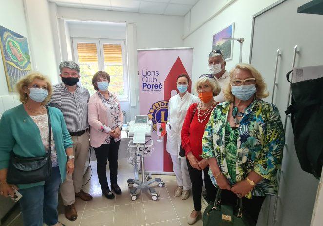 Lions klub Poreč predao donaciju – CTG uređaj porečkom Domu zdravlja