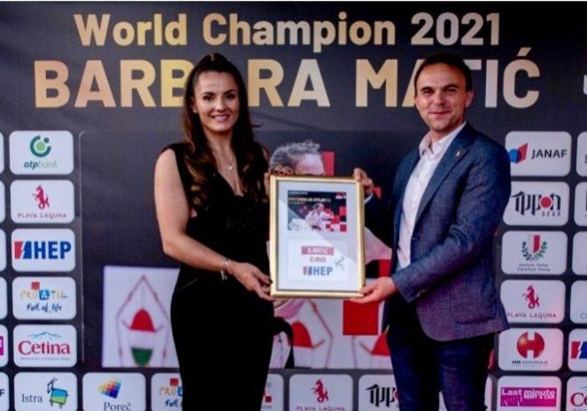 Pozivamo Vas na druženje sa svjetskom judo prvakinjom Barbarom Matić u Poreču