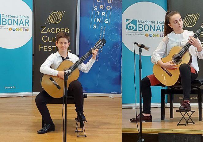 """Učenici Umjetničke škole Poreč predstavili se na """"Zagreb guitar festivalu"""" 2021"""