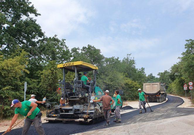 Asfaltirana cesta Kukci-Bašarinka, nakon sezone nastavak radova u dvije faze u Bašarinki