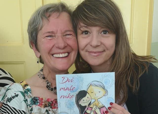 Nona Lili s korisnicima porečkog Doma u utorak, 20. srpnja