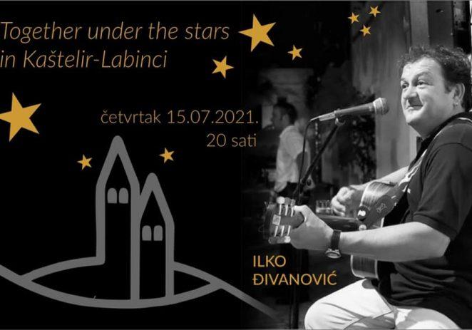 """U četvrtak """"Together under the stars in Kaštelir-Labinci"""""""