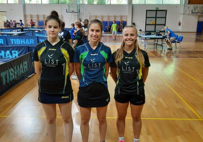 Juniorke stolnoteniskog kluba Vrsar osvojile drugo mjesto na Prvenstvu PIG regije u stolnom tenisu