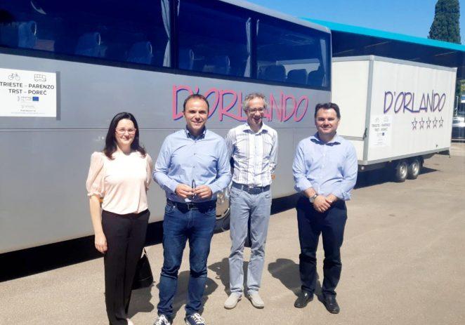 Nova ljetna besplatna autobusne linije na relaciji Trst – Poreč realizirana kroz EU projekt ICARUS