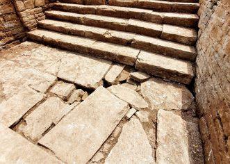 LORON: Veliko stubište rimske vile otkriva nove detalje o najvećem arheološkom nalazištu Poreštine