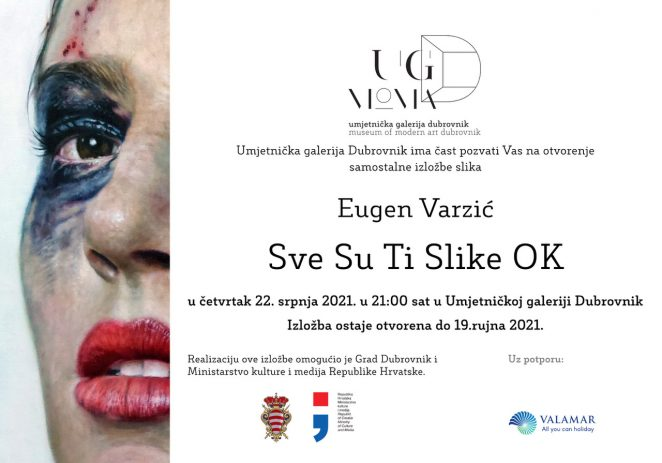 Porečki umjetnik Eugen Varzić od 22. srpnja izlaže u Umjetničkoj galeriji Dubrovnik, jednom od najreprezentativnijih izložbenih prostora na Mediteranu