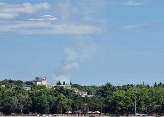Jučerašnji požar kod Labinci gasilo 17 vatrogasaca – izgorjelo 5000m2 šume