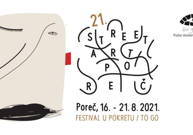 Od 16. do 21. kolovoza u Poreču 21. Street Art Festival