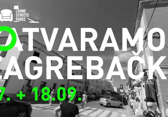 U petak i subotu Zagrebačka ulica bez automobila, postaje mjesto za druženja uz radionice, igre, glazbu i opuštanje