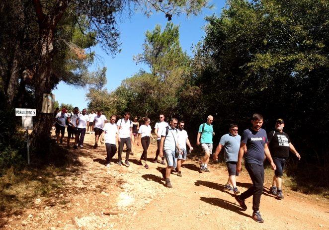 """Udruga """"Mladi za sve"""" uz podršku Općine Kaštelir-Labinci i brojnih sponzora organizirala druženje i pješačenje ALA ŠU"""