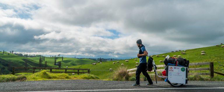 Pješačenje kroz Novi Zeland