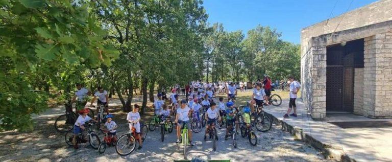 Početak dječje biciklijade Rušnjak1