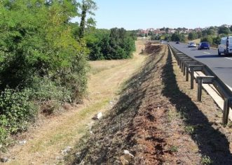 U tijeku obnova oborinske odvodnje naselja Valkarin i Muselaž, čisti se i koridor duž porečke zaobilaznice