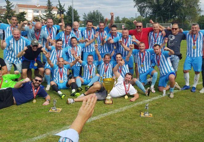 Veterani porečkog NK Jadran prvaci Hrvatske !